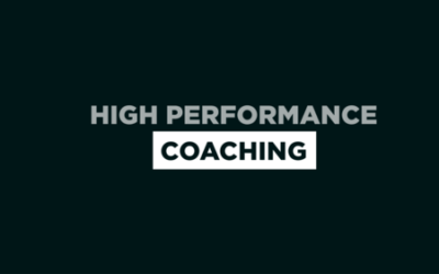 How High-Performance Coaching Can Help You